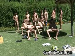 Outdoor Gay Gangbang Fuck Fest 11 By GayPrideVault