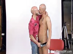Steamy Shaved Sexy Stud Posing Three By MarriedBF