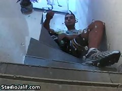 Macanao Torres Finger Banged His Small Stinker And Wanks His Fine Gay Schlong 4 By StudioJalif