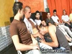 Indoor Gay Gangbang Fuck Fest 3 By GayPrideVault