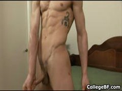Jared Kent Jerking His Fine College Cock 2 By CollegeBF
