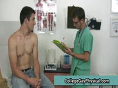 David Gets His Penis And Tight Anus Examined By Doktor 3 By CollegeGayPhysical