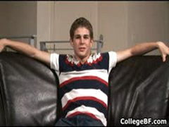 College Hunk Ryan Diehl Jerking Off His Fine Cock 3 By CollegeBF