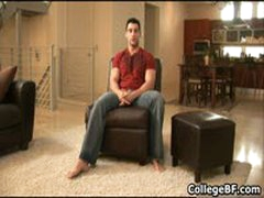 Nick Torretto Wanking His Fine College Cock 1 By CollegeBF