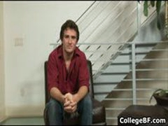 Nick Stuart Wanking His Fine College Cock 1 By CollegeBF