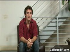 Nick Stuart Wanking His Fine College Cock 1 By CollegeBF