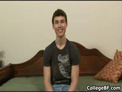 Jared Kent Wanking His Fine College Cock 1 By CollegeBF
