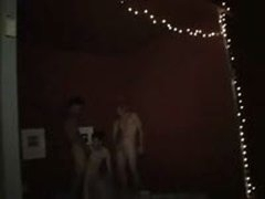 Hot Ass Fucking Threesome At A Gay Party