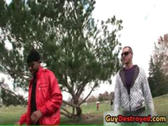 Kieron Cute Ass Fucked By Black Cock 1 By GuyDestroyed