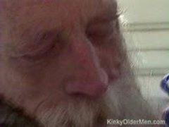 Older Hippie Takes An Ass Pounding