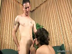 Danny Brooks And Jacob Marteny Fucks And Sucks Gay Boner Four By GotGayBoss