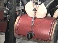 Deep Fisted And Toe-Fucked Slave
