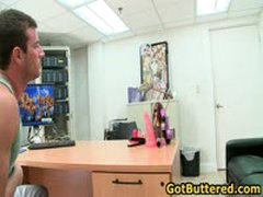 Dude Gets His Ass Buttered In Office 9 By GotButtered