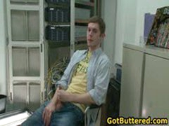 Sexy Gay Guy Gets His Ass And Mouth Buttered In Office 6 By GotButtered