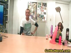 Hot Gay Guy Gets His Ass Buttered In Office 11 By GotButtered
