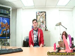 Dude Gets His Ass Buttered In Office 10 By GotButtered