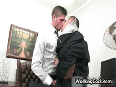 Shane Frost Fucking And Sucking In Office 5 By WorkingCock