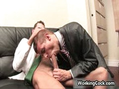 Office Gay Sex
