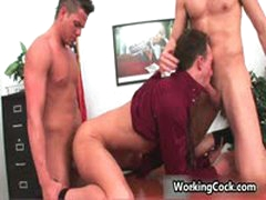 Kirk Cummings Fucking And Sucking On Office 9 By WorkingCock