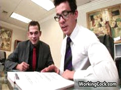 Seth Roberts Fucking And Sucking In Office 3 By WorkingCock