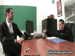 Jake Steel Fucking And Sucking On Office 3 By WorkingCock