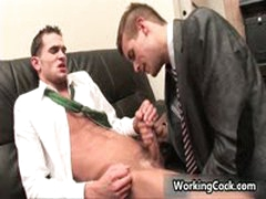 Jonathan Cole Fucking And Sucking In Office 7 By WorkingCock
