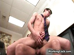 Seth Roberts Fucking And Sucking In Office 7 By WorkingCock