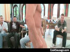 Horny Gay Gang Sucking Muscled Stripper 11 By CockSausage