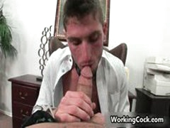 Shane Frost Fucking And Sucking In Office 7 By WorkingCock