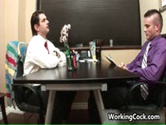 Matthew Singer Fucking And Sucking In Office 3 By WorkingCock