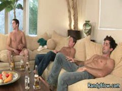 Super Hot Studs In Gay Foursome 5 By RandyBlow