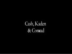 Cash, Kayden And Conrad