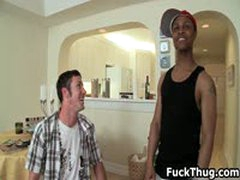 White Dude Gets Picked Up By Thug For Gay Fuck 3 By FuckThug