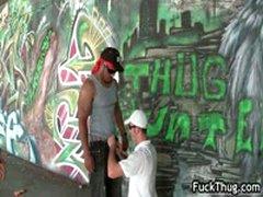 Black Thug Sucking And Fucking Two Guys 7 By FuckThug