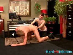 Jackson Sucking And Fucking Gay Cock Video 3 By HardOnJob