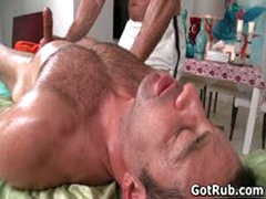 Hot Guy Get His Amazing Body Massaged And Cock Sucked 6 By GotRub