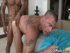 Sexy Dude Get His Amazing Body Massaged And Cock Sucked 47 By GotRub