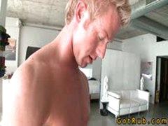 Blond Cutie Fucks His Massage Pro 3 By GotRub