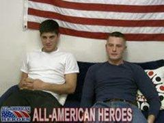 Army Stud Pounds Sailor