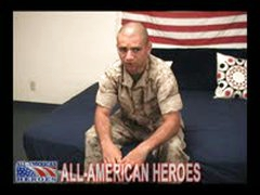 Hot Horny Battled Marine Gets...
