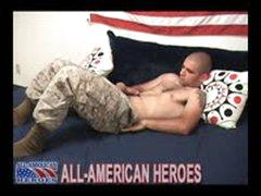Hot Horny Battled Marine Gets...