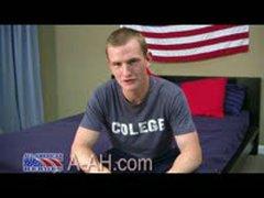 Marine Recruit Has Long Uncut Cock