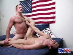 USMC Dude Tries To Take A Big Cock