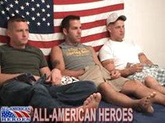 Military Threeway Suck And Fuck