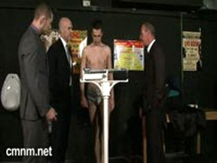Tough Young Boxers Phys Inspection
