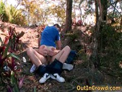 Horny Gays Have Some Outdoor Fuck 2 By Outincrowd