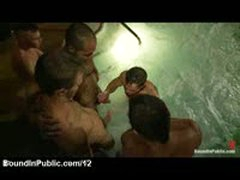 Bound Gay Gangbanged In Hot Tub At Heliso Resort