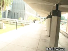 Dude Gets His Tight Ass Stuffed In Public 3 By OutInCrowd
