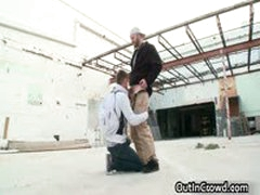 Dude Gets His Tight Ass Stuffed In Public 7 By OutInCrowd