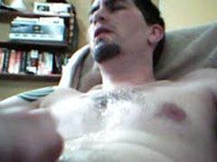 Str8 Guy Cumming, Eting Cum And Fucking Himself 2